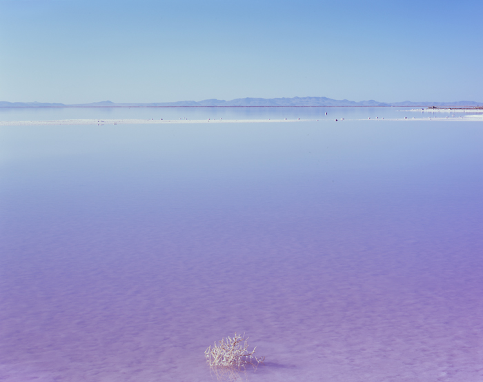 Stansbury Island, Great Salt Lake, Utah - Tirage Cibachrome