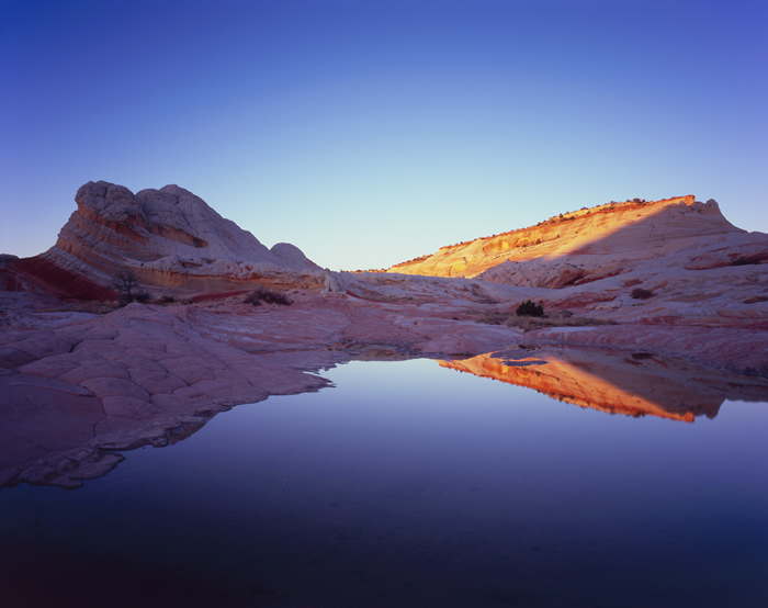 White Pocket Last Light, Arizona - Tirage Cibachrome