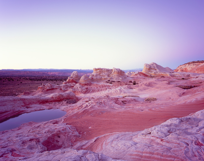 White Pocket Vermilion Cliffs Overlook, Arizona - Tirage Cibachrome