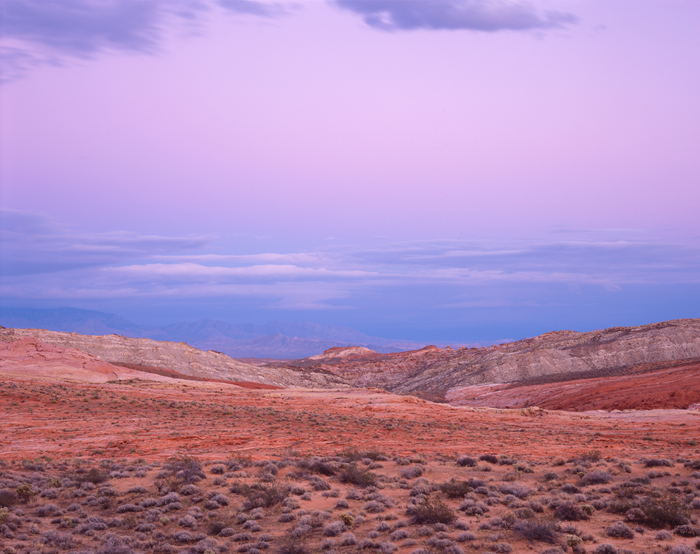 Twilight, Valley of Fire, Nevada