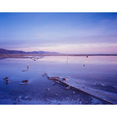 Oil Field, Great Salt Lake, Utah