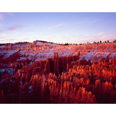 Bryce Canyon National Park Snow, Utah