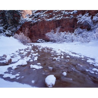 Zion Snow Water, Utah