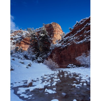 Zion Snow River, Utah