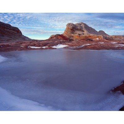 White Pocket Icy Pool, Arizona