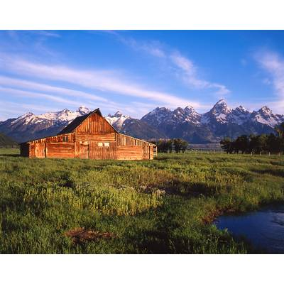 The John Moulton Barn Grand Teton, Wyoming