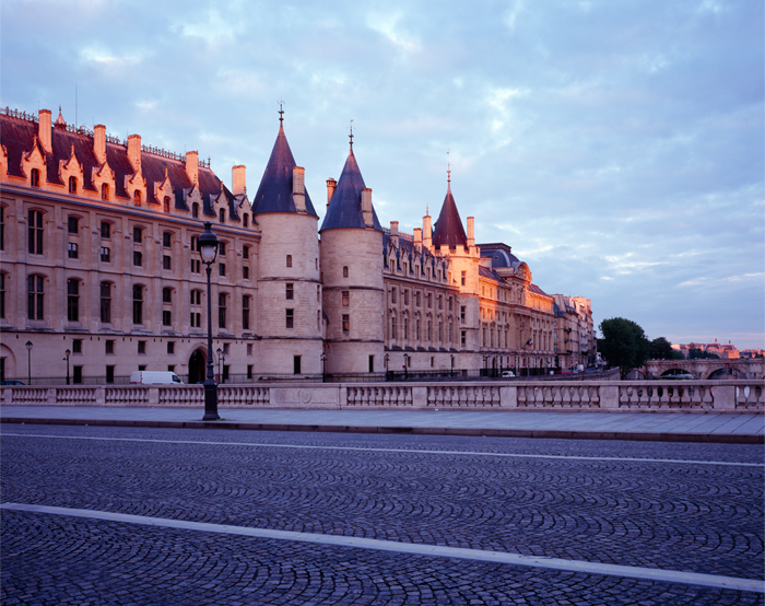 Covid-19, Conciergerie, Paris, France