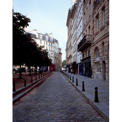 Covid-19, Place Dauphine, Paris, France